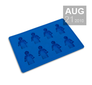 The Lego Minifigure Ice Cube Tray Gift