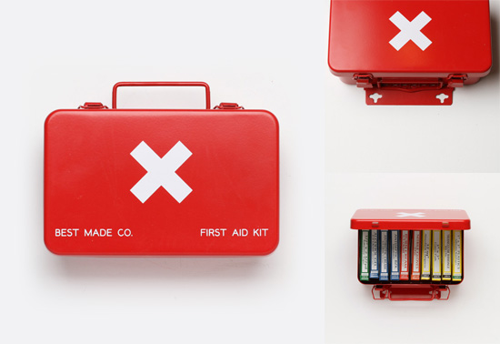 The small portable First Aid kit gift by Best Made Company