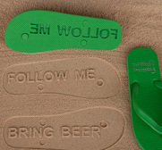 The customisable flip flop gift
