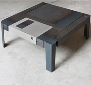 The floppy disk Floppytable gift by Eulant van Exel