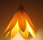 The hanging flower light shade gift by Yorke Design