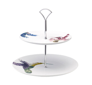 The flutter two-tier cake stand gift