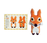 The fox tea towel stuffed animal gift