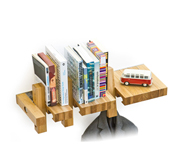 The Fusillo customisable multi-functional shelf gift