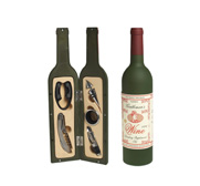 The classic gentleman's wine drinking bar set gift