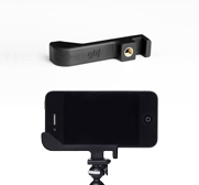 Glif the tripod Mount & Stand for iPhone 4 and 4S by Studio Neat