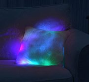 The glowing moonlight cushion gift