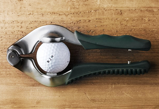 The golf ball personaliser gift