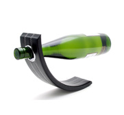 The Gravity leather wine bottle holder gift
