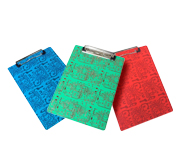 The Grip circuit board clipboard gift
