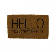 The Hello Happy Jackson doormat gift