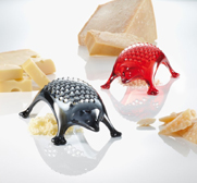 Koziol's Kasimir hedgehog cheese grater gift