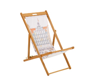 The Hemingway design gift shop design wooden deckchair gift