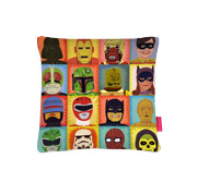 The heroes and villains cushion gift
