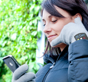 The hi-Call bluetooth talking glove gift by hi-Fun