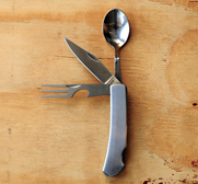 The hobo eat kit swiss army knife of the dinner table gift