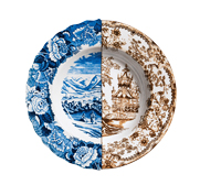The Hybrid plate gift by CTRLZAK for Seletti