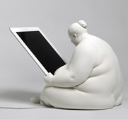 The Venus of Cupertino iPad docking station by Scott Eaton
