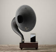 The iPhone gramophone gift