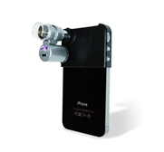 The pocket sized iPhone 4 mini microscope gift