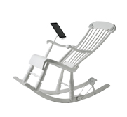 The iRock power generating iPad rocking chair gift
