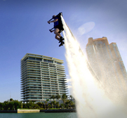 The Jetlev R200 flying water jet pack gift by Raymond Li