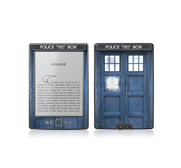 Amazons Kindle 4 Doctor Who Tardis Police box skin cover gift