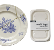 The Kintsugi repair kit by Lotte Dekker