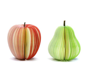 The Kudamemo fruit shaped sticky notes gift