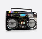 The Lasonic ghettoblaster gift