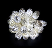 The LED fairy 3D lights printed pine cone shade gift