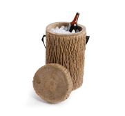 The log stump cooler gift