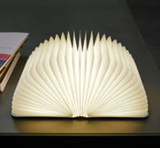 The Lumio book lamp by Max Gunawan