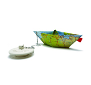 The Marina world map boat plug gift by Ossnat Alon