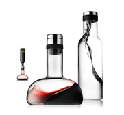 The Menu red wine breather decanter and free water carafe gift