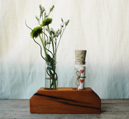 The romantic message in a bottle vase gift