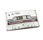 The Portemonnaie mixtape wallet by paprcuts.de