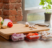 The Mocubo one stop chopping board with storage gift
