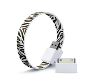 Mohzy's Loop micro USB and iPhone/iPod cable wristband gift