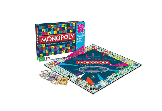 The Monopoly Olympics game gift