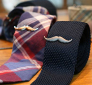 The stylish Moustache tie clip gift by Jennie & Eden