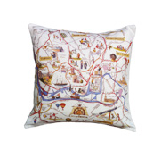 The my place maps cushion gift