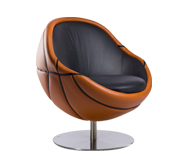 The NBA leather chair gift by Paolo Lillus