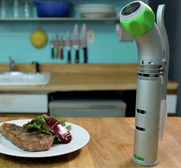 The Nomiku immersion circulator for sous vide cooking