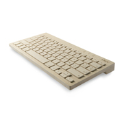 The Oree maple wood wireless keyboard gift