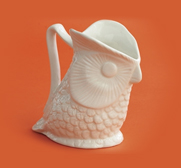 The owl pitcher gift