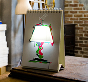 The pagebypage book lamp gift