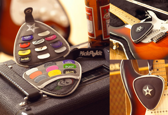 PickPokit the plectrum holder wallet gift