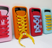 Play Hello iShoes silicone iPhone 4S case gift