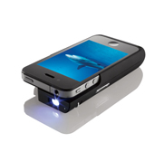 The iPhone 4 pocket projector gift